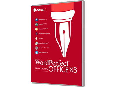 WORDPERFECT OFFICE X8 PRO UPGRADE [Download]
